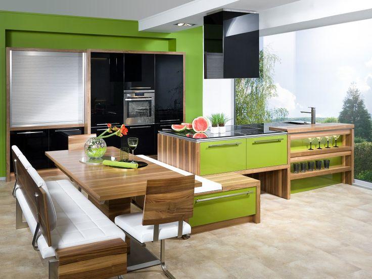 Moderne Deko Idee Perfekt Küche Mit Integriertem Essplatz Planungsbeispiel  MAX 0010 P Maßmöbel Küche Mit Integriertem
