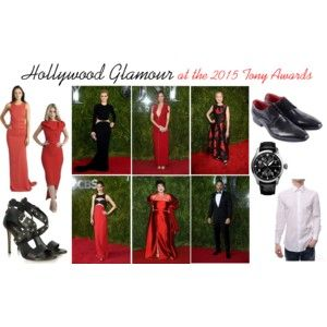 Get the look: Hollywood Glamour at the 2015 Tony Awards