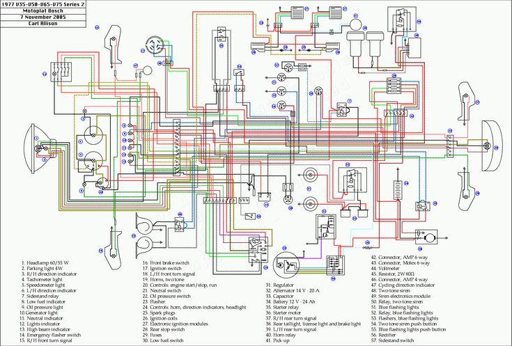 Yamaha V4 Engine Wiring Diagram Honda Motorcycles Motorcycle Wiring Honda