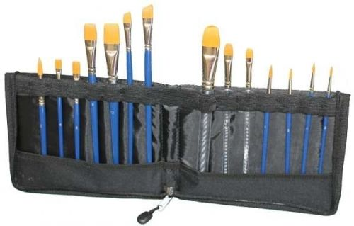 Tag Face Paint Brush Set With Brush Wallet, $65.95 (http://www.artshedonline.com.au/tag-face-paint-brush-set-with-brush-wallet/)