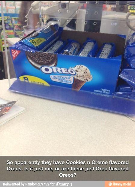 Oreo flavored Oreos / iFunny :)