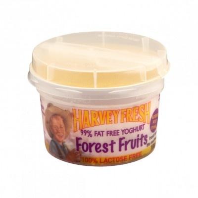 Harvey Fresh Lactose Free, Gluten Free 99% Fat Free Yoghurt Forest Fruits 100g Cup  www.harveyfresh.com.au