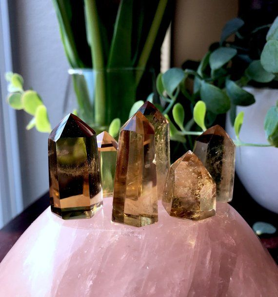 Natural Smoky Citrine Necklace  Unheated Untreaded Citrine Pendant  Rough Smoky Citrine  Crystal Necklace  Rare Gemstone