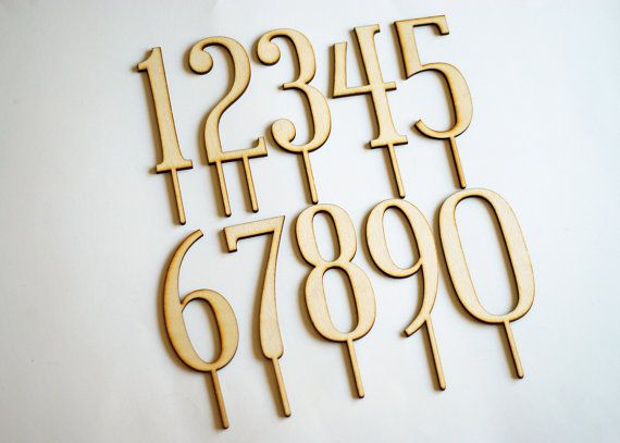 Hey, I found this really awesome Etsy listing at https://www.etsy.com/listing/182643636/any-single-number-birthday-cake-toppers