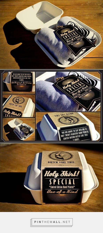 Shirt design examples - Creative T Shirt Packaging Design Examples