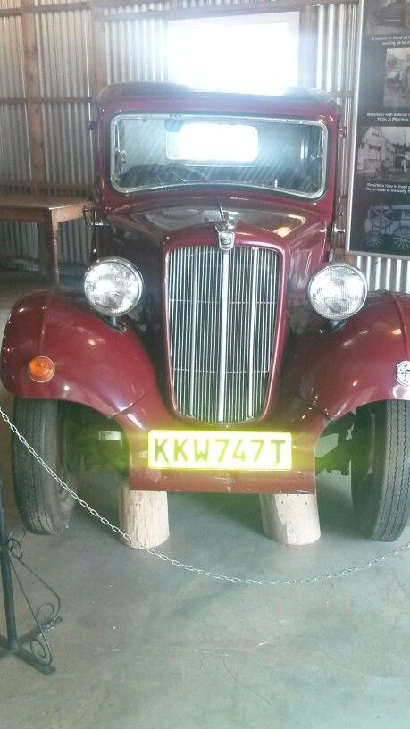 Old car collection in Pilgrims Rest