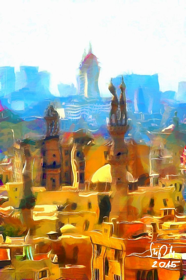 Check out Fabulous Cairo by Miklós Szigeti at eagalart.com