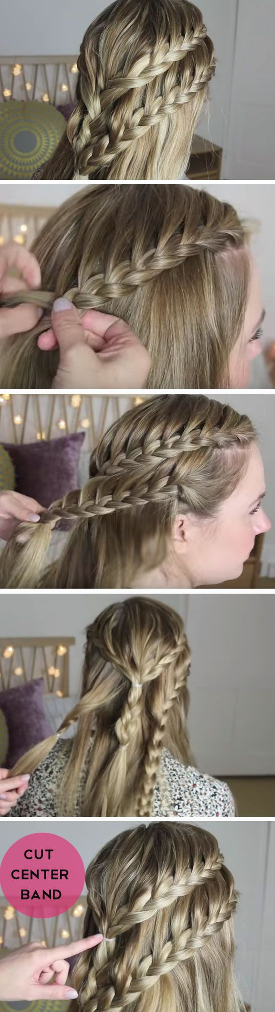 Double Braid Crown 18 DIY Game of Thrones Inspired Hairstyles that will turn you into a medieval princess!