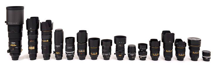 Nikon Lens Technology - Les évolutions techniques de la baïonnette F dates par dates