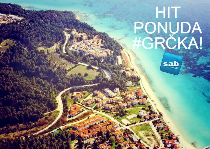 HIT POPUSTI – #GRČKA  #HANIOTI je smešten na prvom prstu Halkidikija, na poluostrvu #Kasandra, između letovališta #Polihrono i #Pefkohori.  IZDVAJAMO IZ PONUDE: *SAB Club Hanioti HOTEL 3* od 249 evra  (pun pansion+bus+osiguranje). Za više informacija pogledajte: http://sab.travel/ponude-mesto/hanioti-klub  Deligradska 9, 11000 Beograd www.sab.travel +381 11 30 65 350 office@sab.travel #sabtravel #leto2015 #letovanje