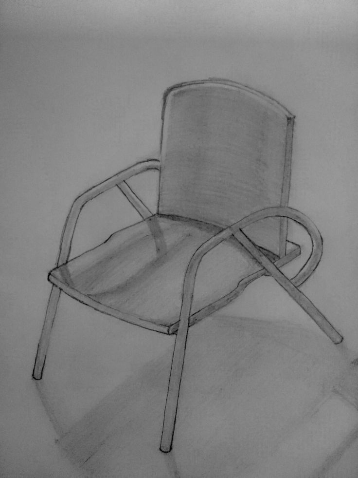 Lambda armchair design sketch