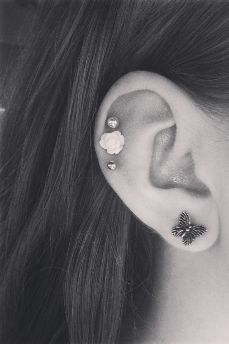 127 best Cute Ear Piercing Pictures/Videos images on ...