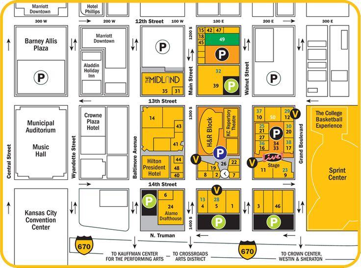 Legends Outlet Mall Kansas City Map
