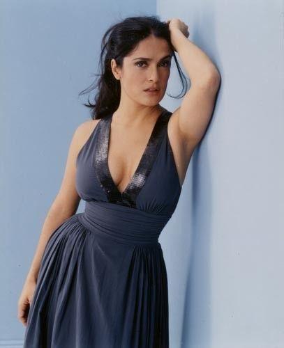 Hollywood Actress Salma Hayek Armpit Show Photos Gallery