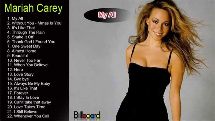 Best Of Mariah Carey - Mariah Carey Greatest Hits [Full Album 2015]