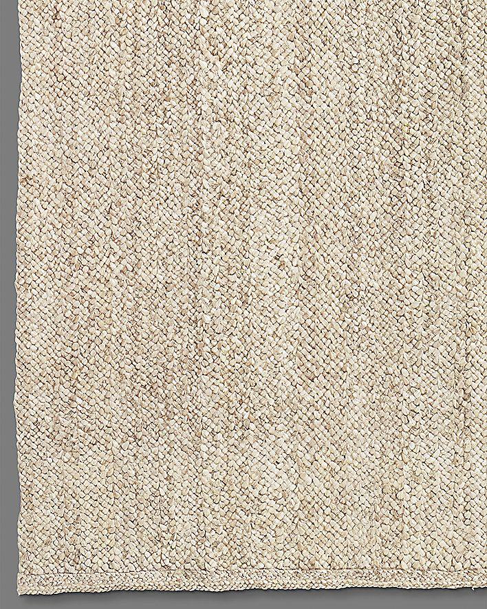chunky braided jute rug bleached 5u0027 x 7u0027 985 6u0027 x 9