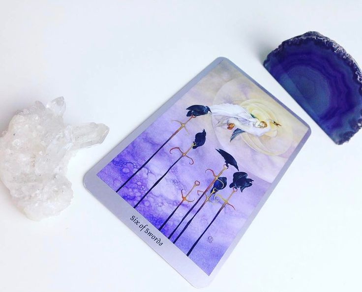 Daily #Tarot Reading for April 17: Six of Swords When we have undergone or are undergoing a difficult #riteofpassage when we have learned important #lessons and are sailing toward smoother waters we learn the #rhythm of the Six of Swords. Swords represent the #air element the realm of #thoughts #words and #ideas. Sixes represent #harmony flow and #equilibrium. When we pull the Six of Swords it indicates that we are leaving something behind whether physically or mentally for our own good. The…
