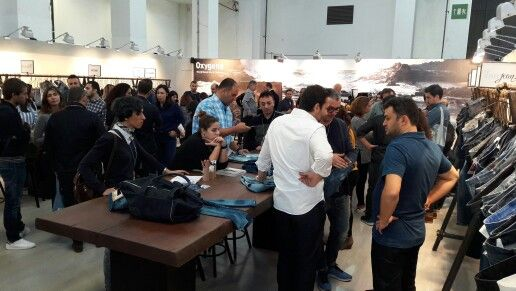 From the first day of #denim #premierevision #barcelona