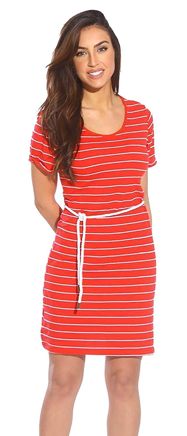 Summer dressesshort casual dresses red cycjpt fashion