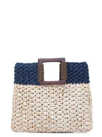 Original bolso tejido as crochet