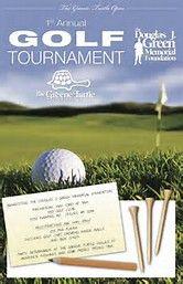 golf tournament flyers template