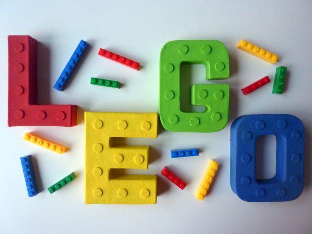 Handmade Lego letters / sign - handmade Lego gift