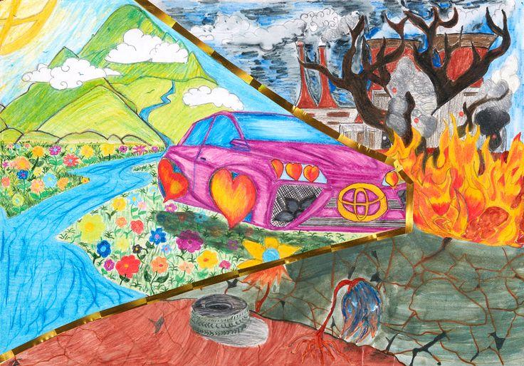 Drive A New Day - Chloe Francis | Toyota Dream Car Art Contest