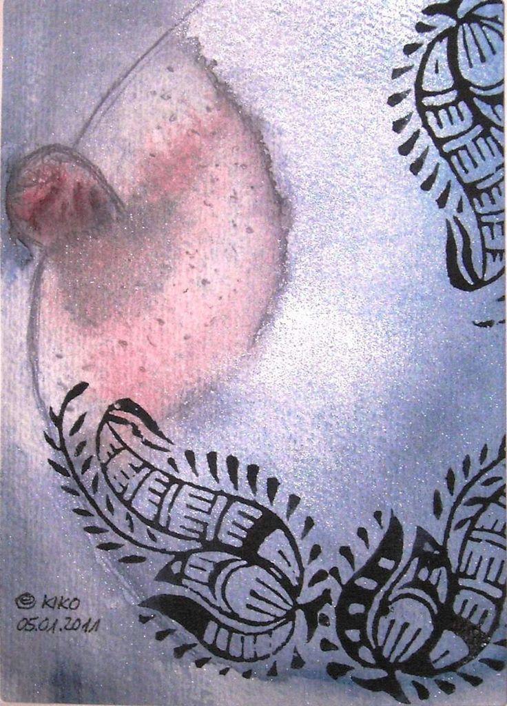 Kirsten Kohrt - Snow Queen watercolor... Credit: KIRSTEN KOHRT  (Click to Support Artist)