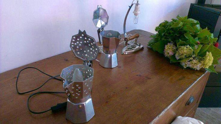 Idee regalo Lampade .......riciclo creativo