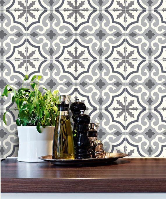 Tile Stickers For Kitchen Backsplash Floor Bath Removable Waterproof Removable M030 Kitchen Backsplash Tile Decals Tile Decals Stickers