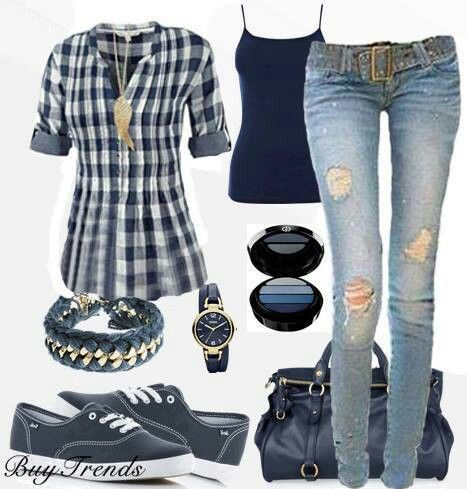 Casual, I just like the outfit, not accessories
