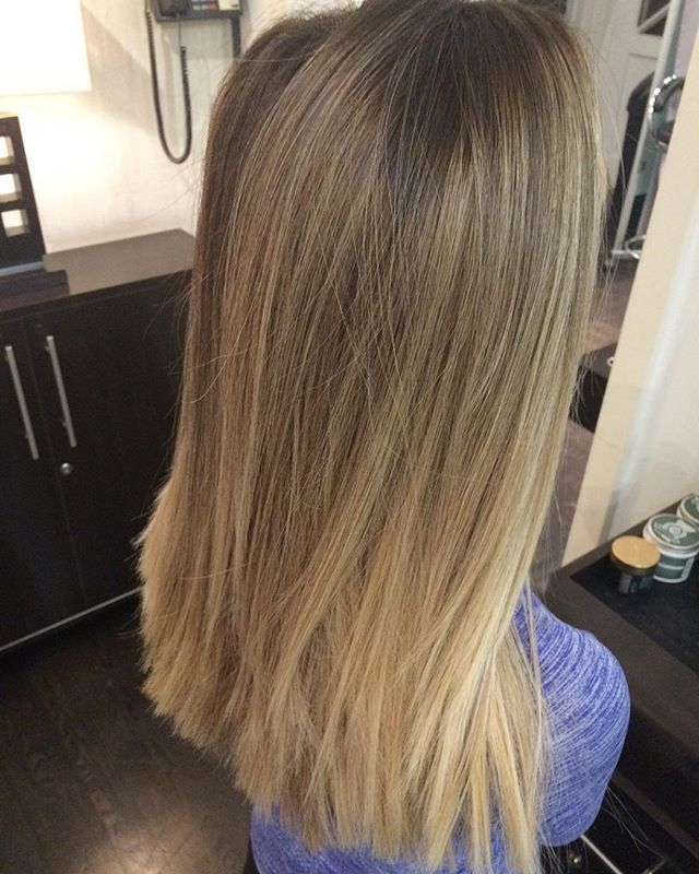 23 best hair images on pinterest hairstyle colours and long bangs highlights by me ombre babylights pmusecretfo Images