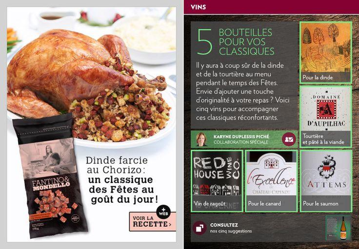 Cinq bouteilles pour vos classiques - La Presse+
