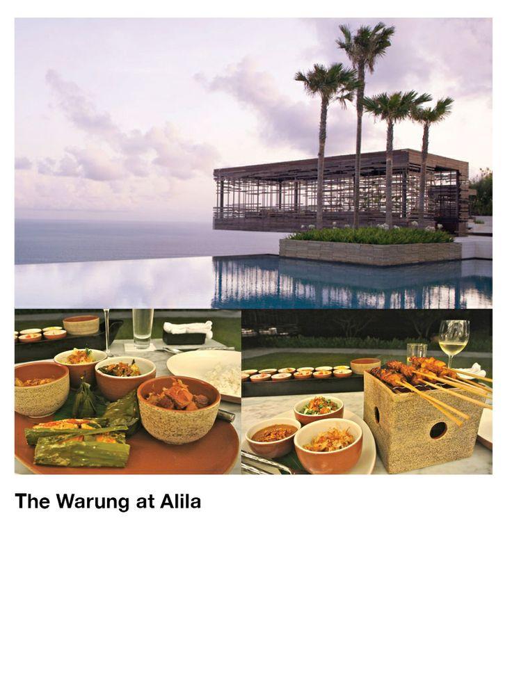 The Warung at Alila Uluwatu  Photo by: Katie Allen