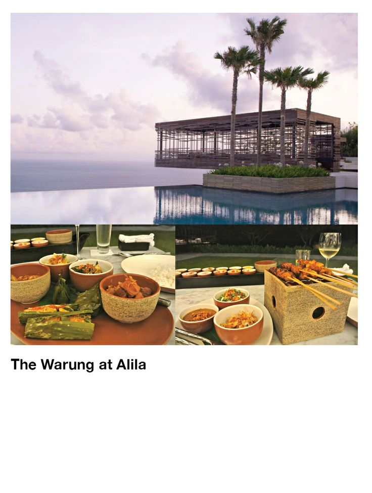 The Warung at Alila Uluwatu  Photo by: Katie Allen