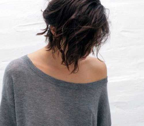 Popular Messy Bob Haircuts | Bob Hairstyles 2015 - Short Hairstyles for Women