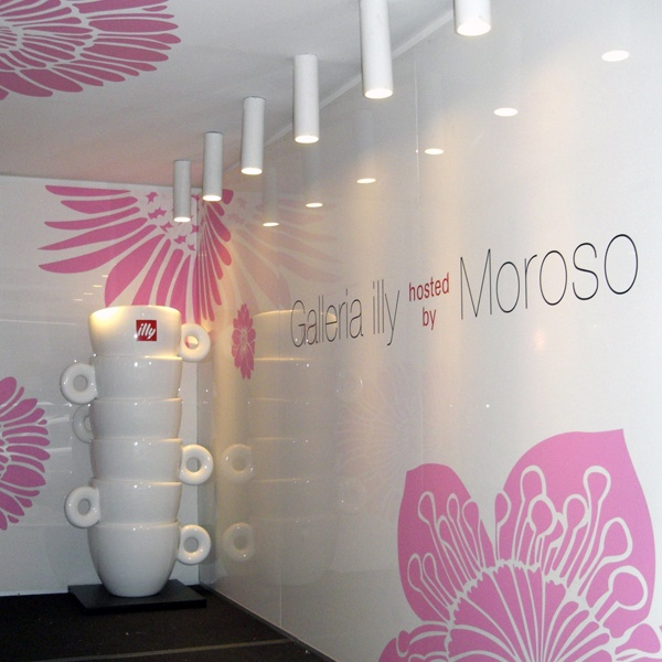 Illy hosted by Moroso