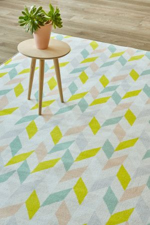 Harlequin: 1.5 X 2.3 metres. Printed nylon. Please note that, as these printed…