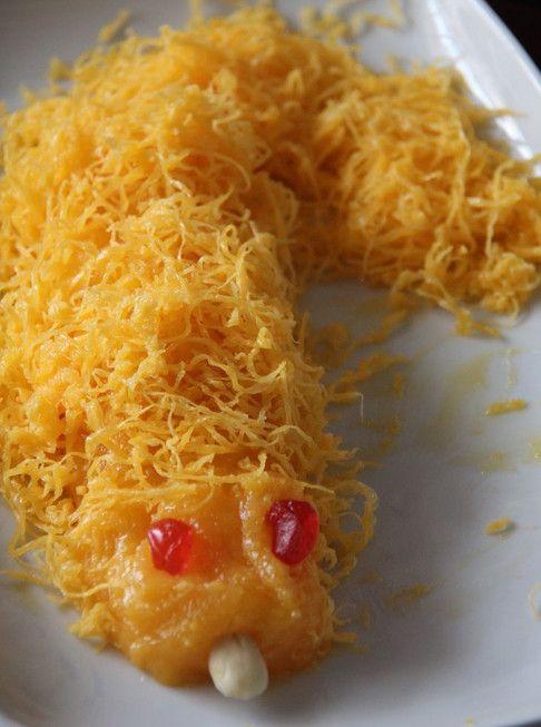 Lampreia de Ovos, este é um famoso doce, bastante típico na época natalícia! Costuma estar presente na Ceia de Natal.