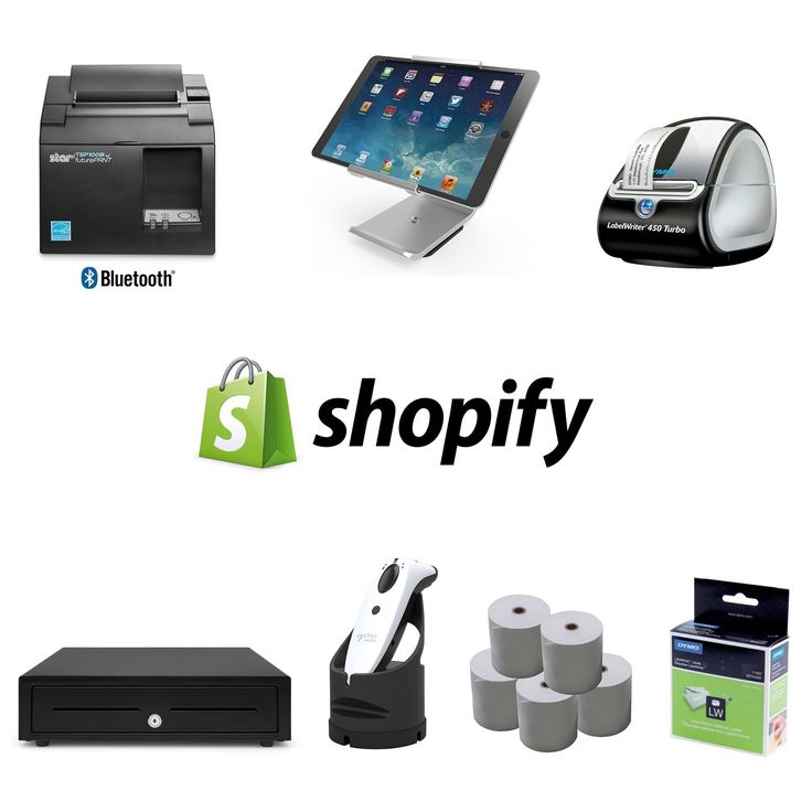 Shopify POS Hardware Bundle 13 (With images) Shipping