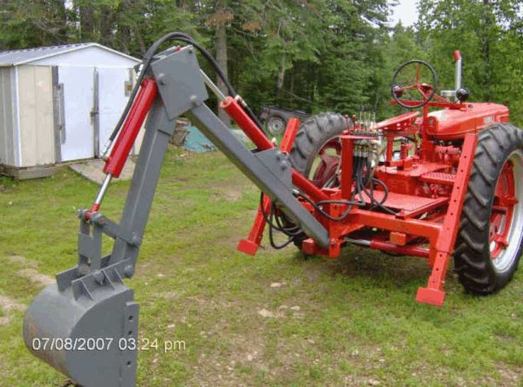 Homemade Garden Tractor 3 Point Hitch Plans : Best backhoe attachment images on pinterest tractor
