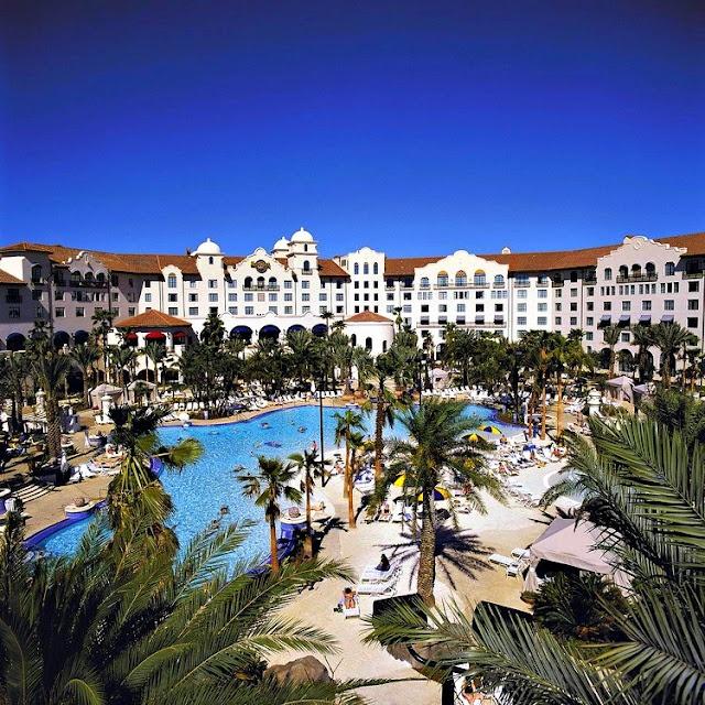 Hotel California? No, it's just Hard Rock Hotel Orlando. #hardrock #orlando