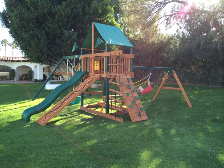 The Top Features of the BEST Swing Sets  It's easy to go into a store or browse a catalog and buy a swingset for your kids, but the only thing easier than buying a swingset, is buying a bad one.  These are the top five features you should look for if you want a swingset your kids will enjoy for multiple years. You'll avoid a lot of hassle by doing a little research upfront.