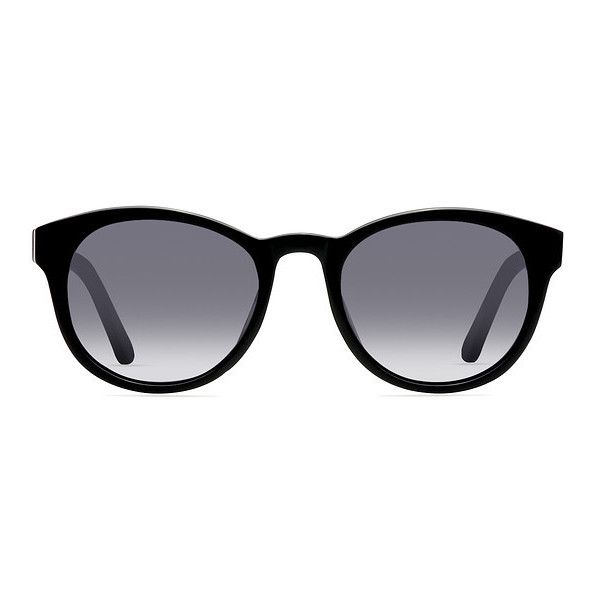 Women's Coppola - Black round plastic - 12927 Plastic Rx Sunglasses ($42) ❤ liked on Polyvore featuring accessories, eyewear, sunglasses, vintage round sunglasses, plastic glasses, rounded glasses, round glasses and plastic sunglasses
