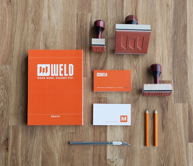Weld - Business Card Design Inspiration | Card Nerd