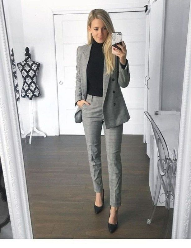 Chic And Casual Business Attire Ideas For Women 29 Haljine