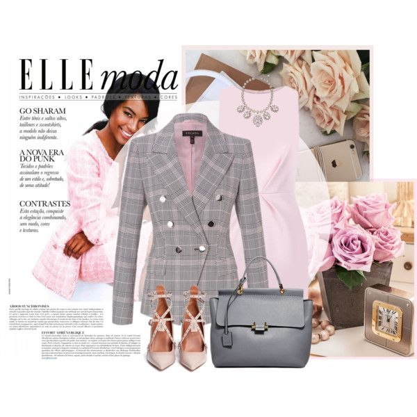 Busy week by tati1984 on Polyvore featuring polyvore, fashion, style, Finders Keepers, ESCADA, Valentino, Lanvin, Accessorize and Anja