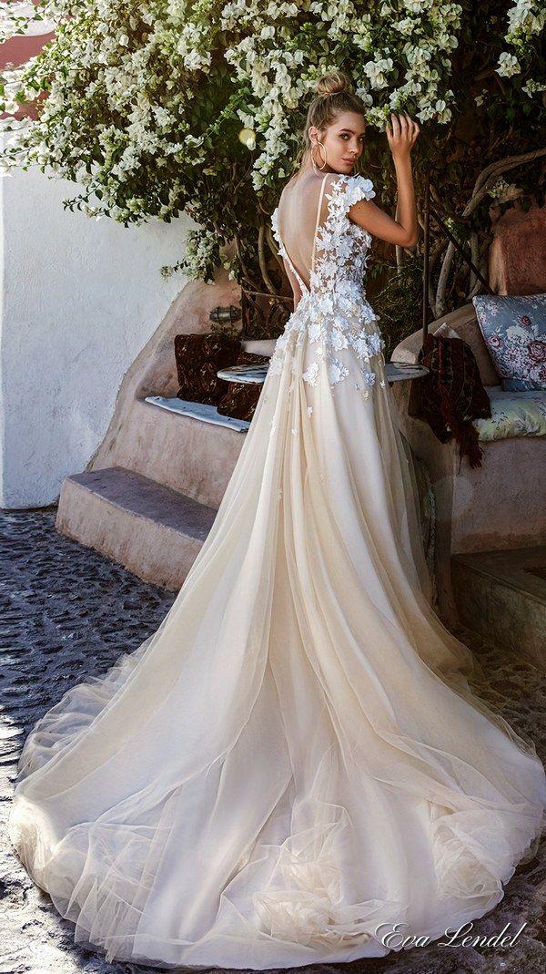 1412 best wedding ideas images on pinterest for Eva lendel wedding dresses