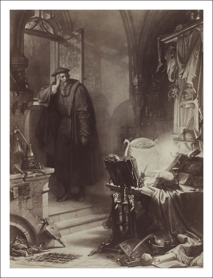 Faust and frankenstein