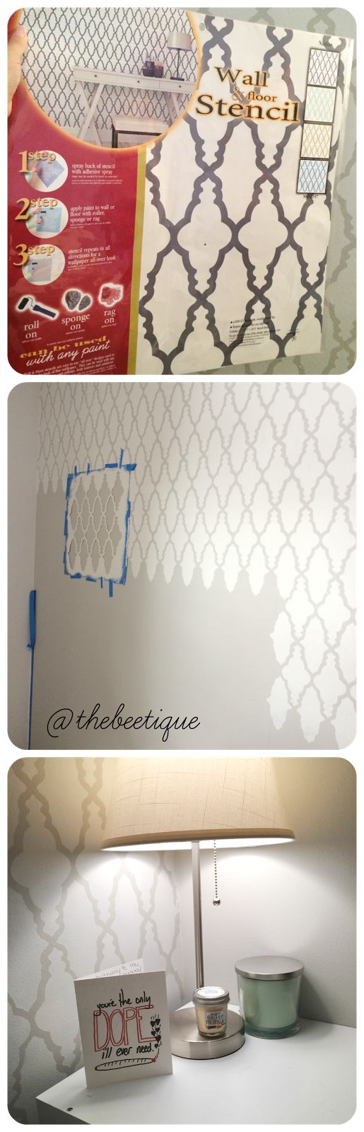 Wall Stencil Patterns Hobby Lobby : Best images about new house bathroom on